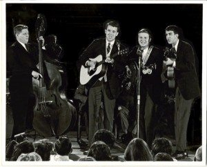 The Cumberland Trio performing Ride UYp on ABC-TV Hootenanny, which aired January 25 & August 8, 1964