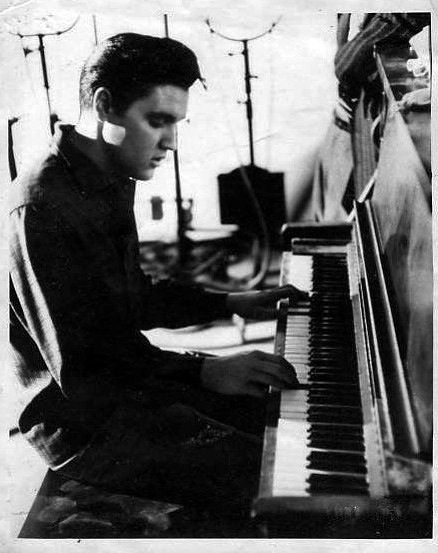 Elvis at RCA Studio B Nashville 1961