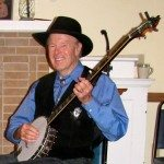 Jerre & his 1962 Vega Peter Seeger long neck banjo that he used with The Cumberland trio in the early 1960's