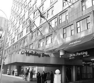 Holiday Inn, W 57th St NY City May, 1964 where the CT stayed while recording