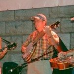 Lynn Wamp on Mandolin, Larry Lowe on the Clawhammer Banjo, & Lou Wamp on Dobro