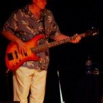 "Bob ""Bottom"" Wilkerson on electric bass"