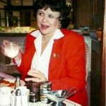 Barbara Haskew before the Reunion Concert on November 9, 2001 at the Bijou Theatre Bistro in Knoxville, TN