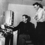 Chet Atkins & Waylon Jennings RCA Studio B circa 1964